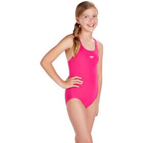 speedo Essential Endurance+ Medalist Maillot de bain 1 pièce Fille, electric pink